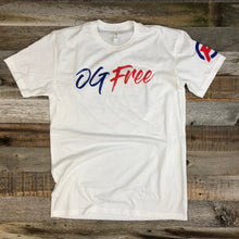 Load image into Gallery viewer, OG Free Stand & Deliver Crew Tee- White