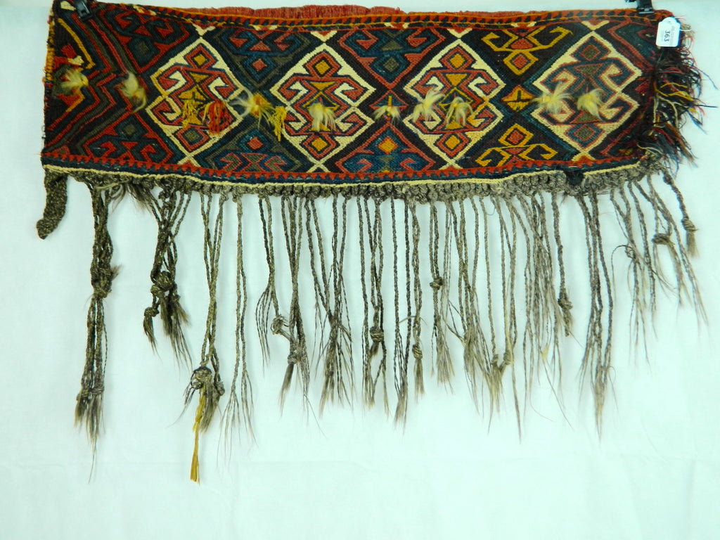 20th century KURDISH bag face from important Bonython decorative arts collection