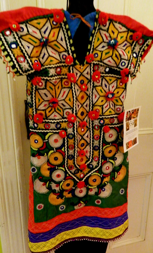 Sindhi Kanjiri (traditional blouse): Pakistan