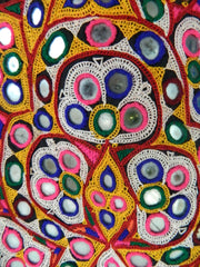 AHIR tribal OHNDI (shawl) MASHRU silk/cotton