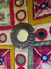 Hindu JADEJA tribal CHAKLA (wall hanging) from Saurashtra, Gujarat, India