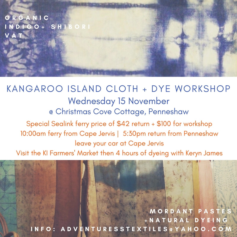 Archaeologica Natural Dyeing Workshop