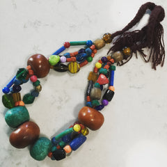 Berber necklace from Rissani, Sahara desert, Morocco