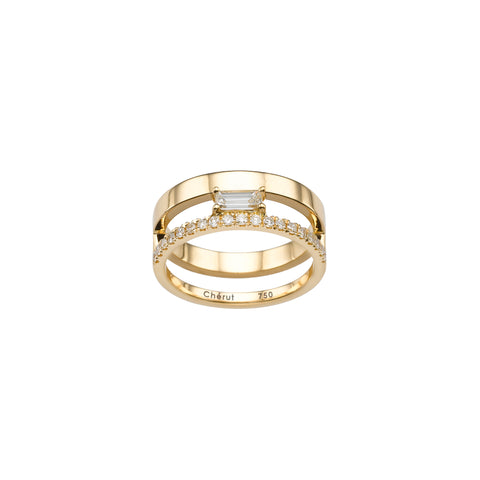 CLASSIC BAGUETTE RING