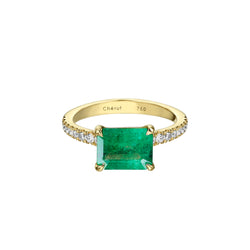 LARGE NATURAL EMERALD RING SAMPLE