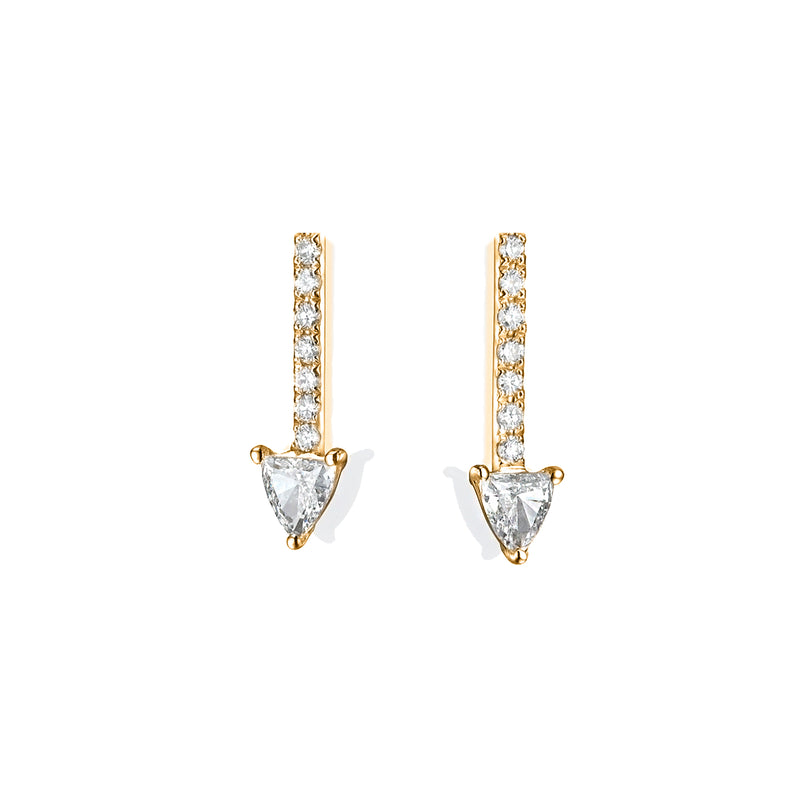 ARROW DIAMOND  EARRINGS