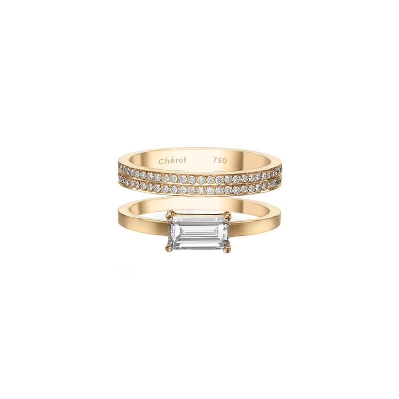 XL BAGUETTE DIAMOND RING - Chérut FINE JEWELRY