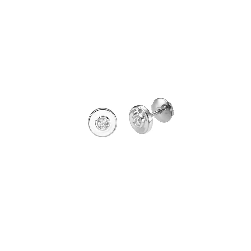 DIAMOND EYES STUD EARRINGS - Chérut FINE JEWELRY