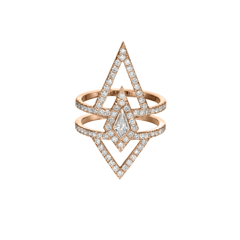 KITE DIAMOND RING - Chérut FINE JEWELRY