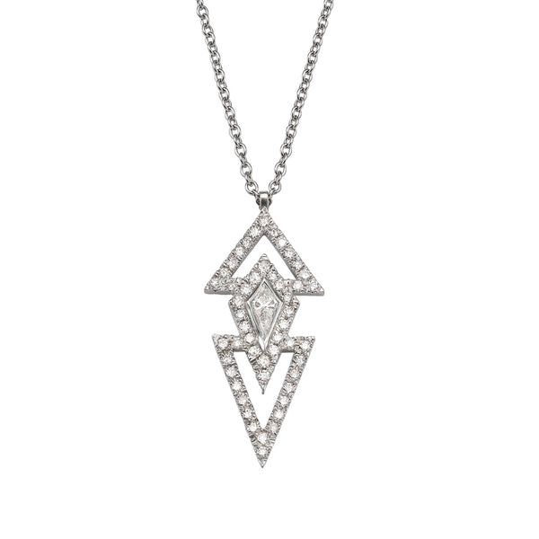 KITE DIAMOND NECKLACE - Chérut FINE JEWELRY