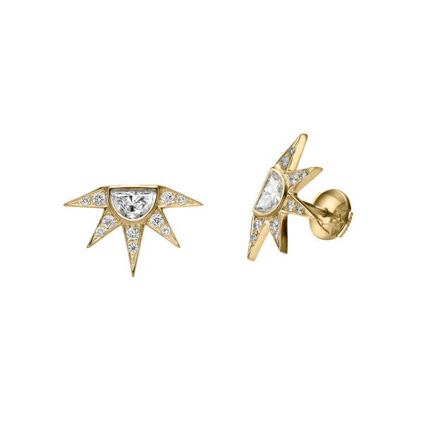 SUN EARRINGS - Chérut FINE JEWELRY