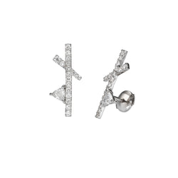 TRILLION COMPOSITION EARRINGS - Chérut FINE JEWELRY