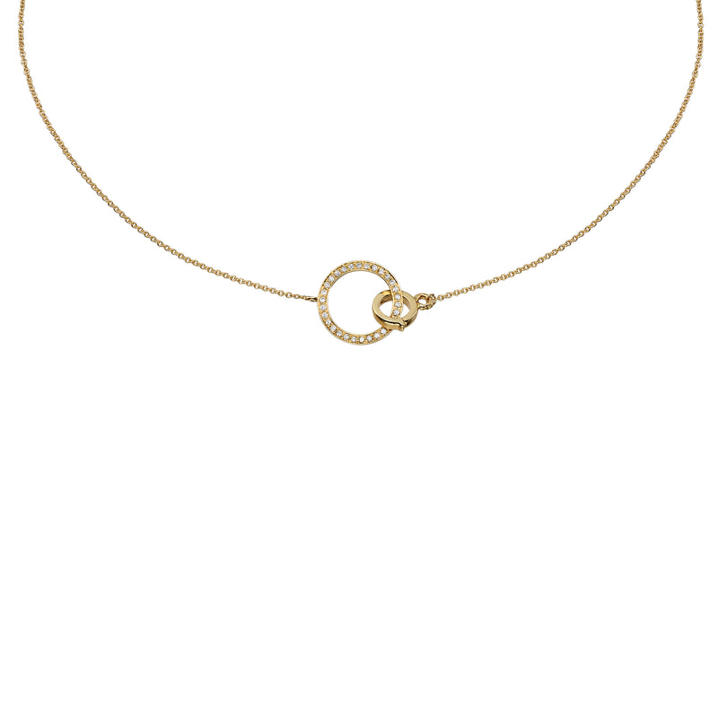CIRCLE DIAMOND CHOKER - Chérut FINE JEWELRY
