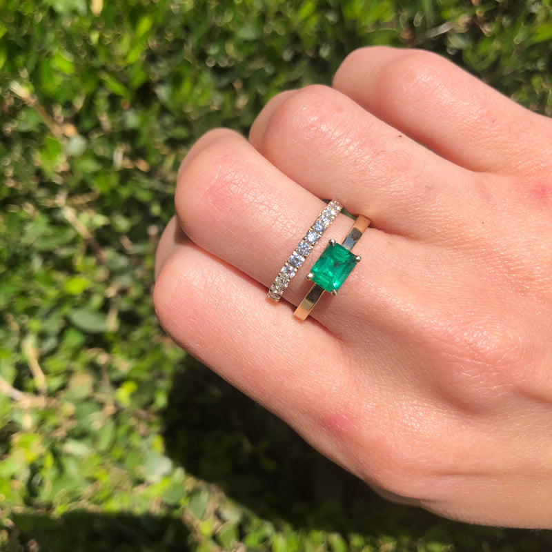 NATURAL EMERALD RING - Chérut FINE JEWELRY