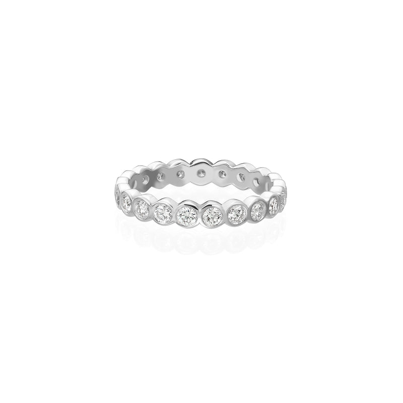 ETERNITY BEZEL RING - Chérut FINE JEWELRY