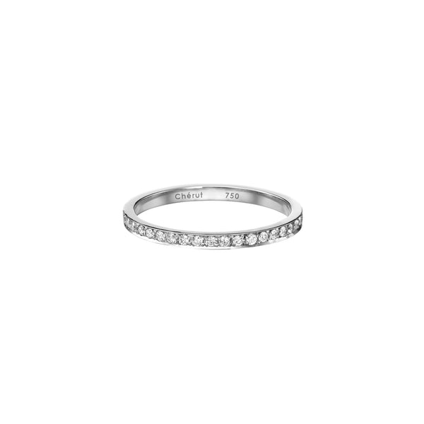 DIAMOND PAVÉ RING - Chérut FINE JEWELRY