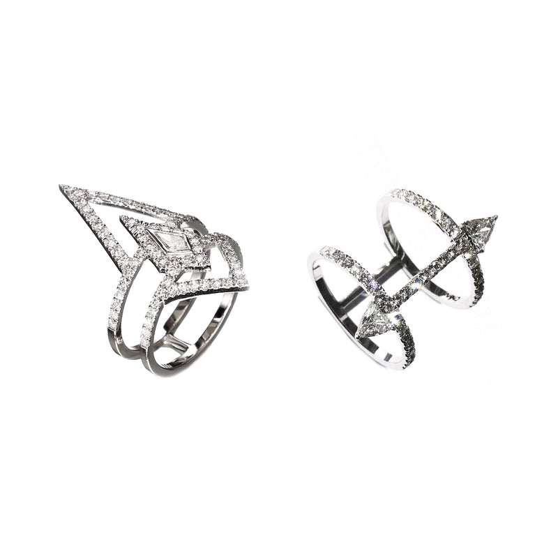 ARROW DIAMOND  RING - Chérut FINE JEWELRY