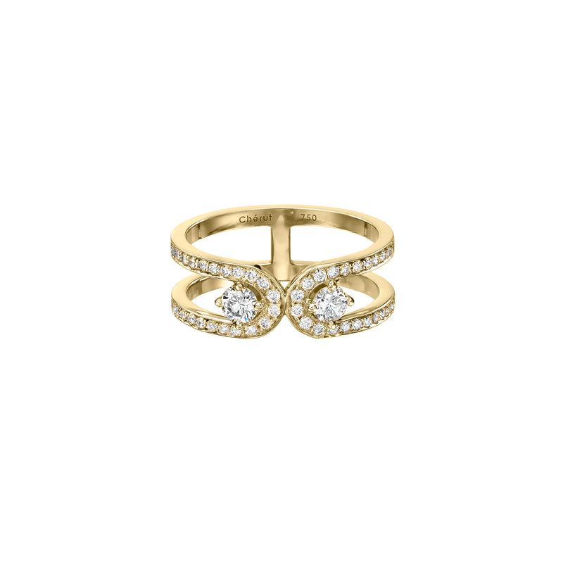 MIRROR RING - Chérut FINE JEWELRY