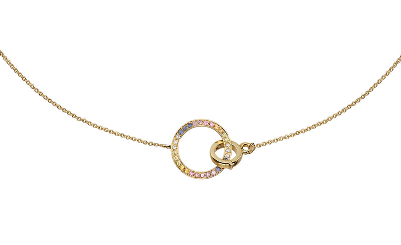 LIMITED EDITION CIRCLE RAINBOW CHOKER