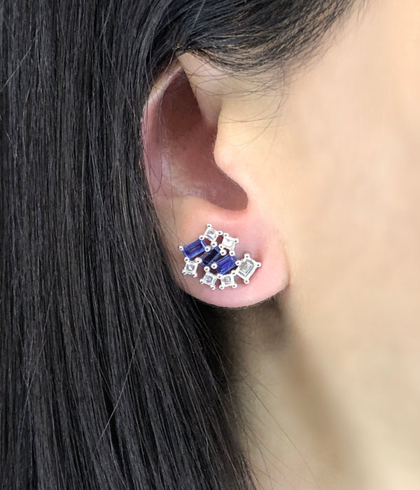 STARRY NIGHT SAPPHIRE EARRINGS