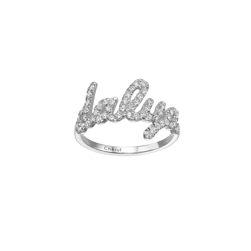 DIAMOND NAME RING
