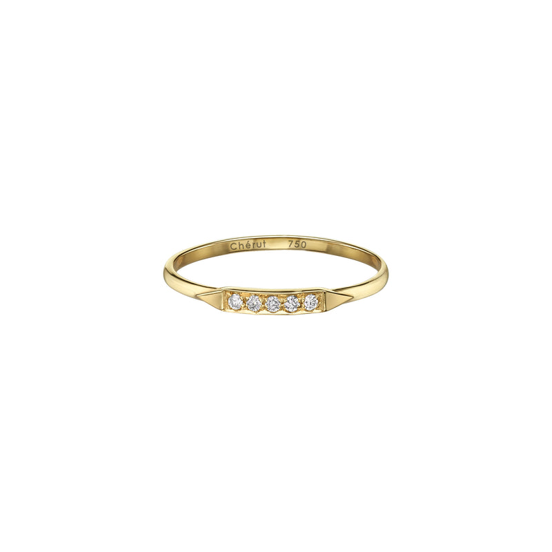 SUGARKANE PINKY RING - Chérut FINE JEWELRY