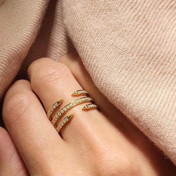 TRIPLE RING - Chérut FINE JEWELRY