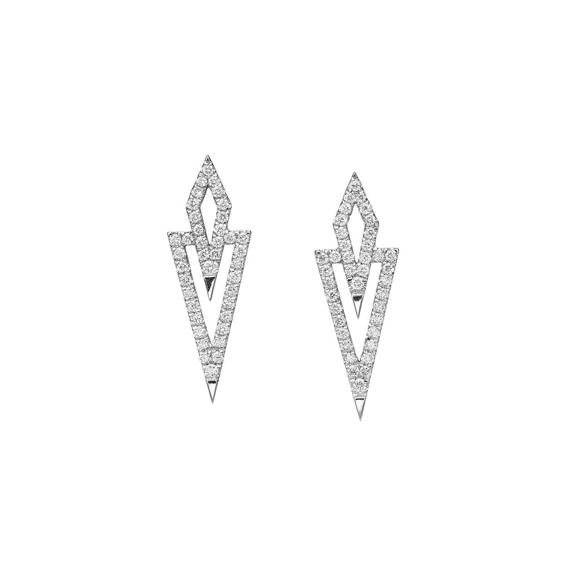 KITE SHAPE EARRINGS - Chérut FINE JEWELRY