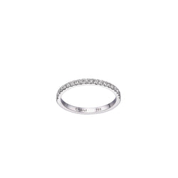 DIAMOND MICRO PAVÉ BAND - Chérut FINE JEWELRY