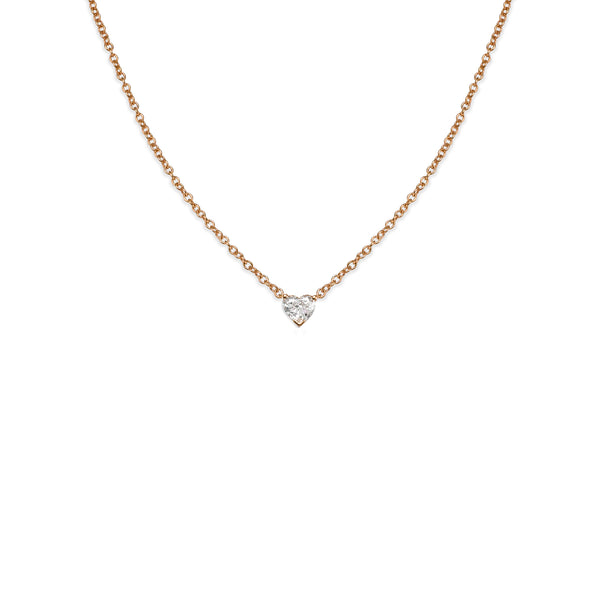 HEART DIAMOND CHOKER