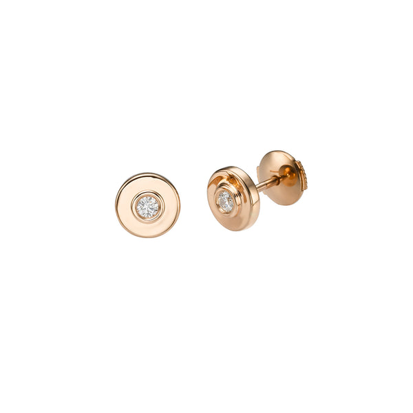 DIAMOND EYES STUD EARRINGS