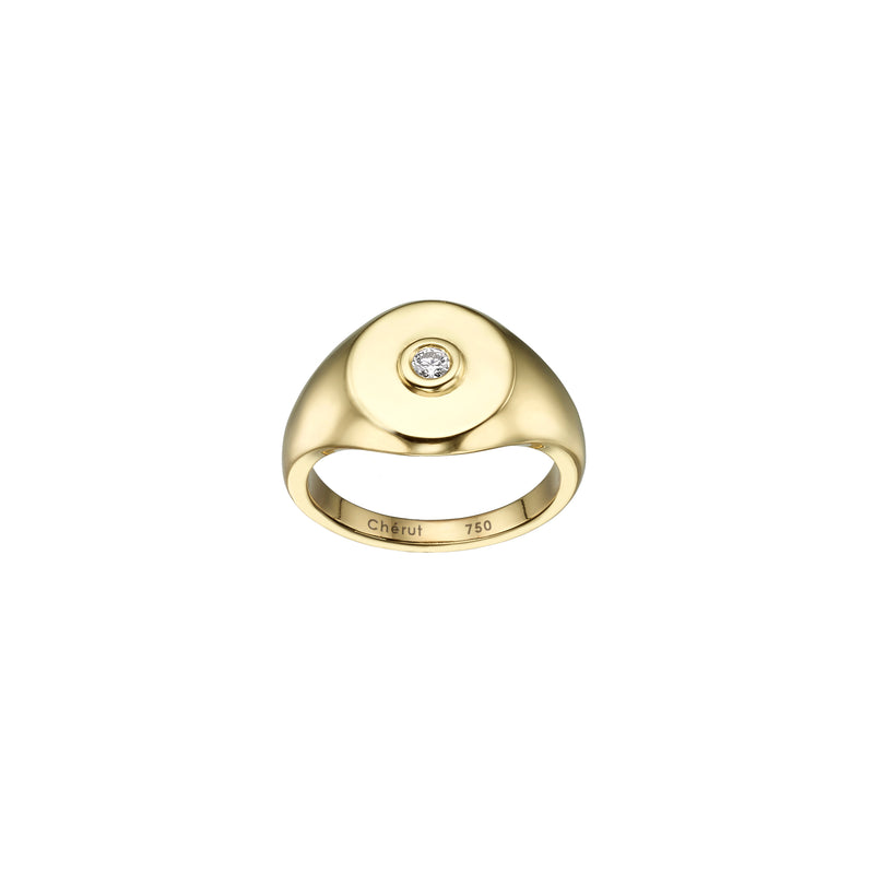 SIGNET PINKY RING - Chérut FINE JEWELRY