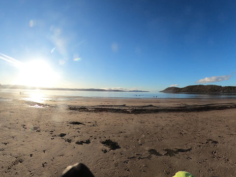 Argyll Beach Wild Swimming Winter 2021