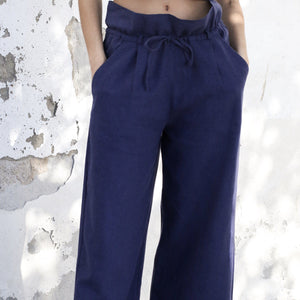 Basic Pants Navy Pants ALOHAS