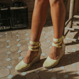 Clara by Day Lemon Sandal ALOHAS