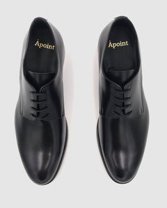 Boston - Derby Leather Shoes - Black