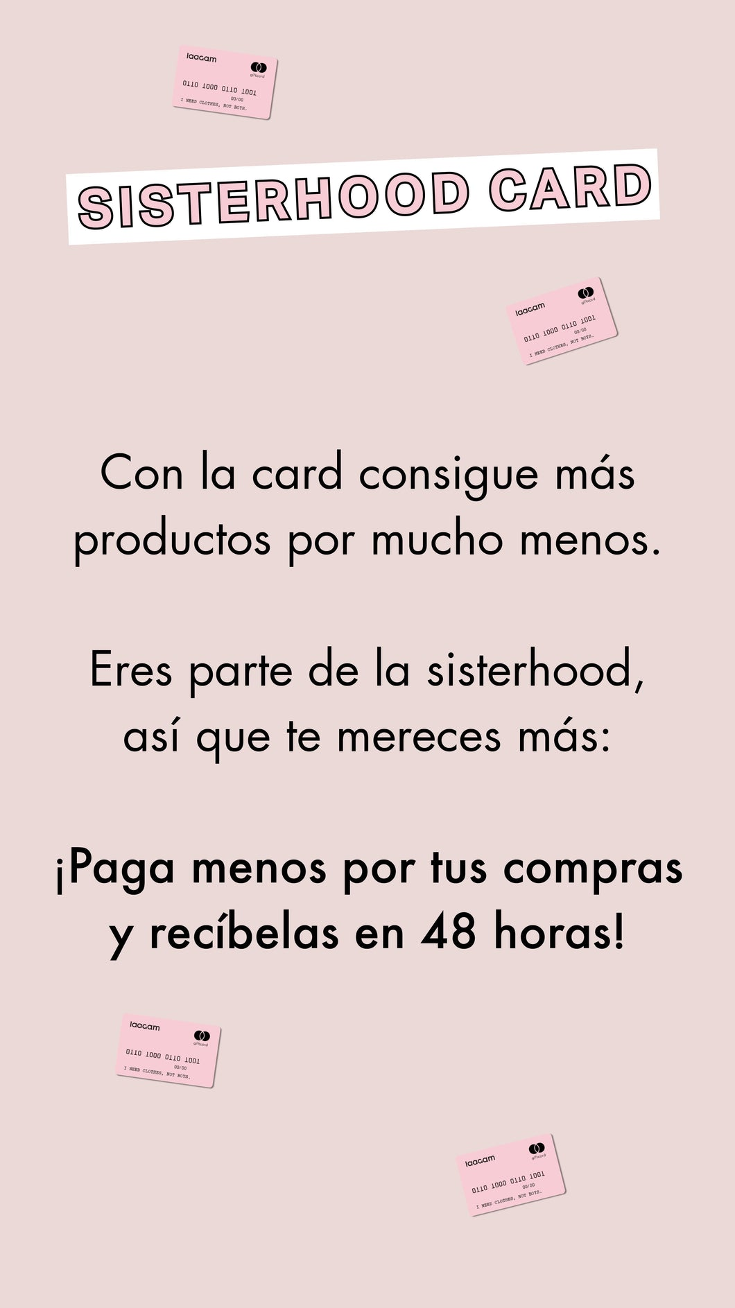 sisterhood card
