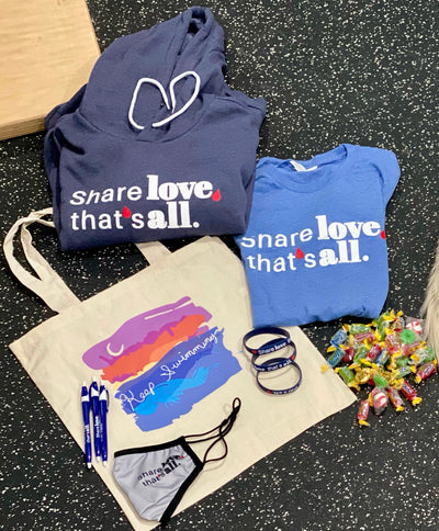 Keep Swimming - Share Love care package!