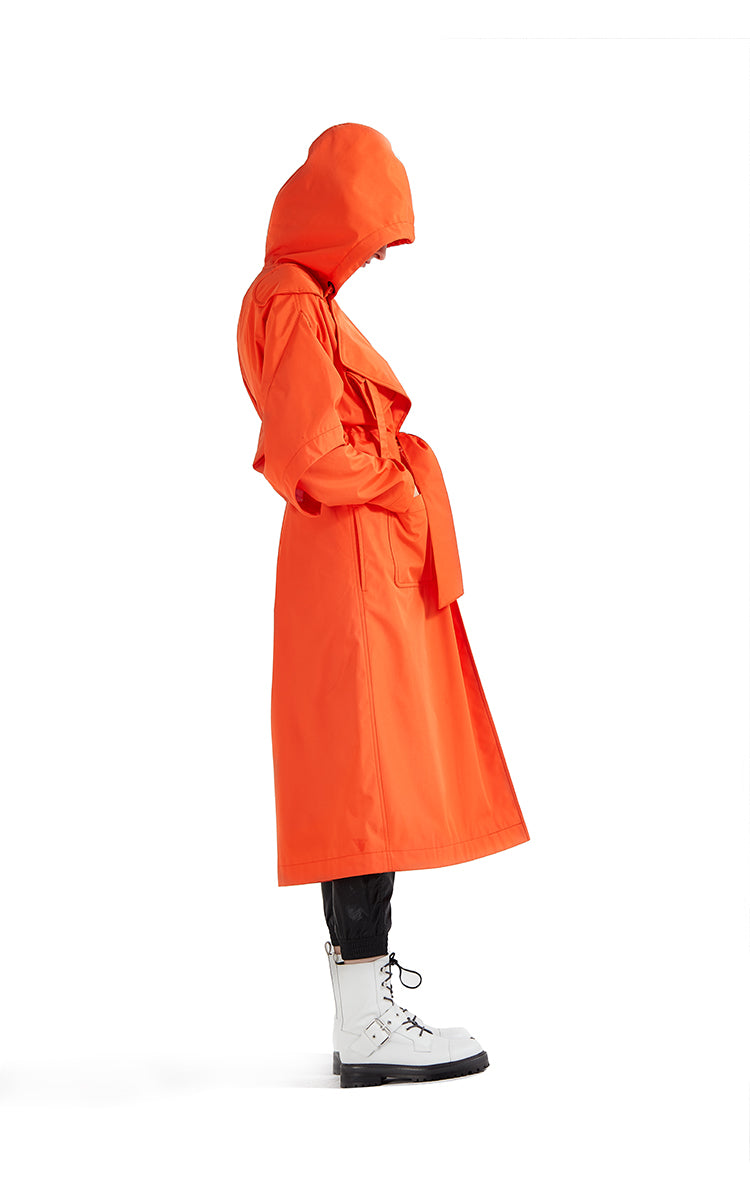 Coloreve Fisherman Trench Coat