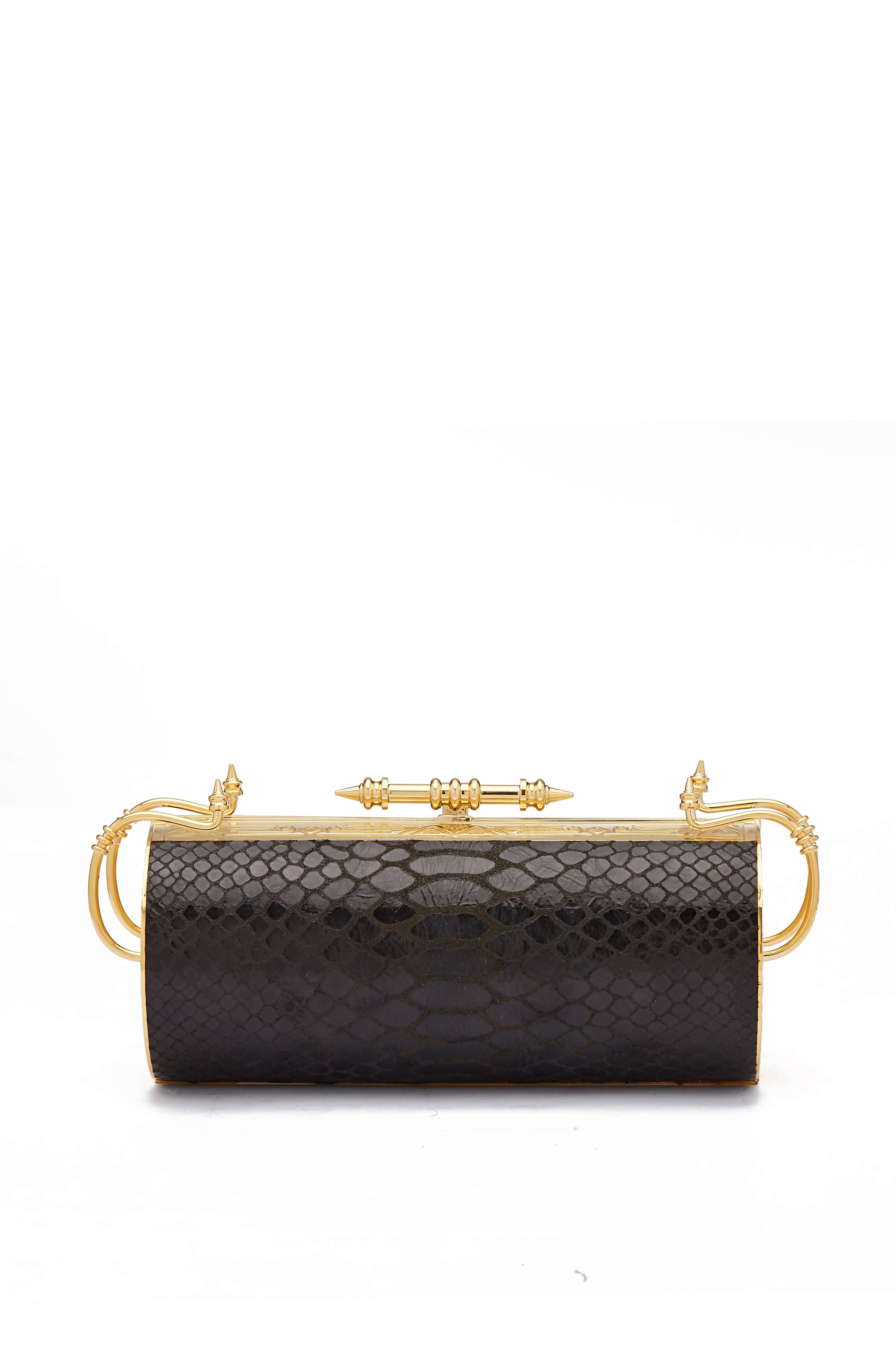 Felucca Python Black Clutch new