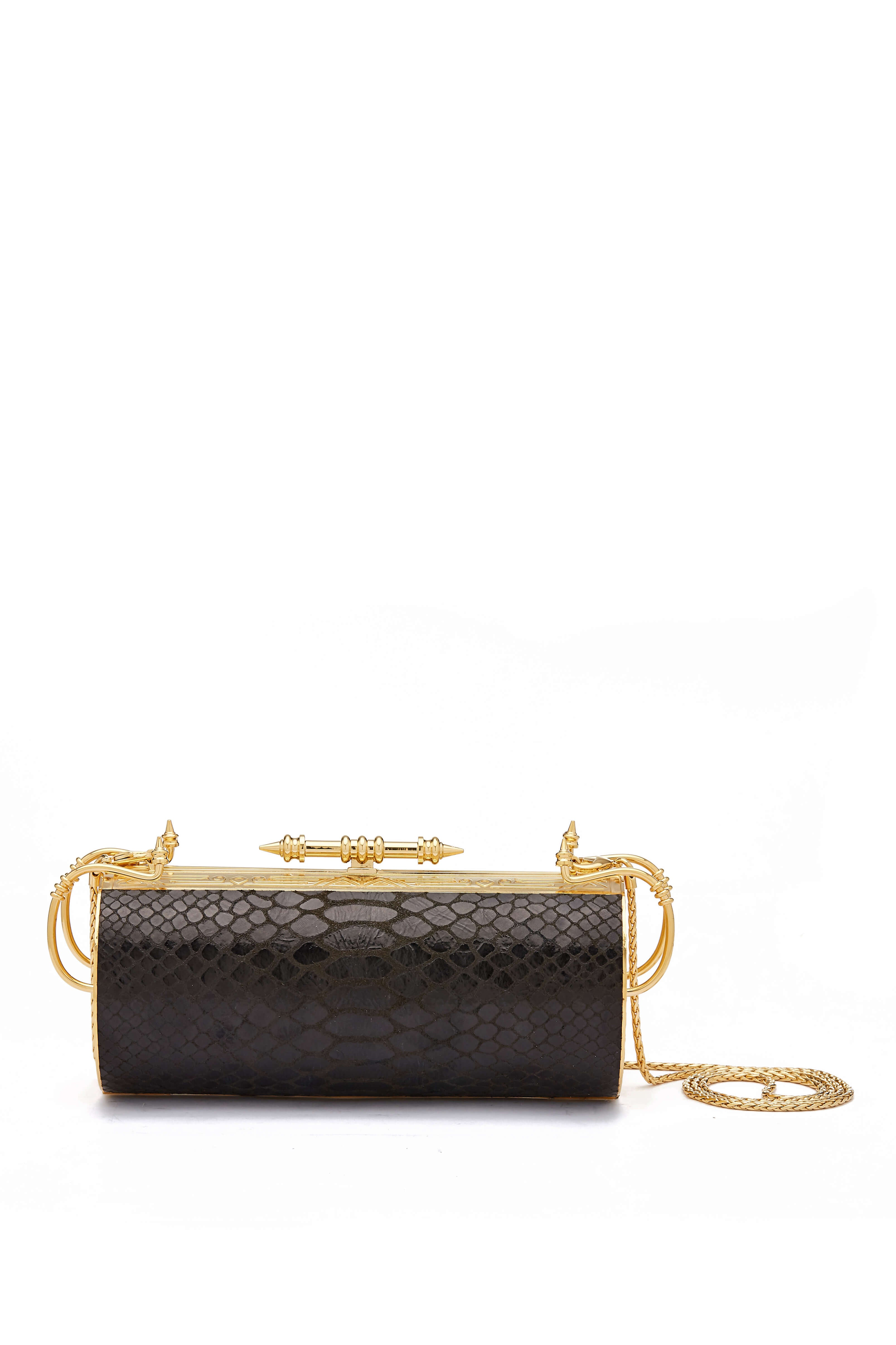 Felucca Python limited Black Clutch