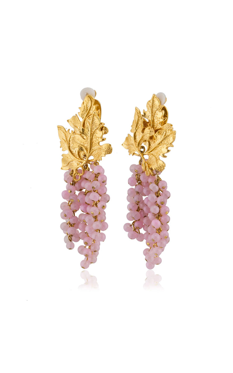 Peracas Adile Earrings in Light Pink