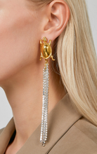 Load image into Gallery viewer, Turtle Earrings With Sparklings