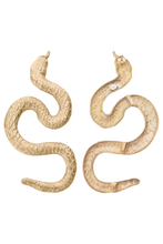 Load image into Gallery viewer, snake stud earrings