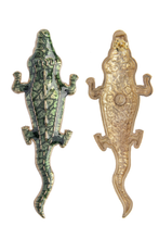 Load image into Gallery viewer, Green Alligator Earrings new