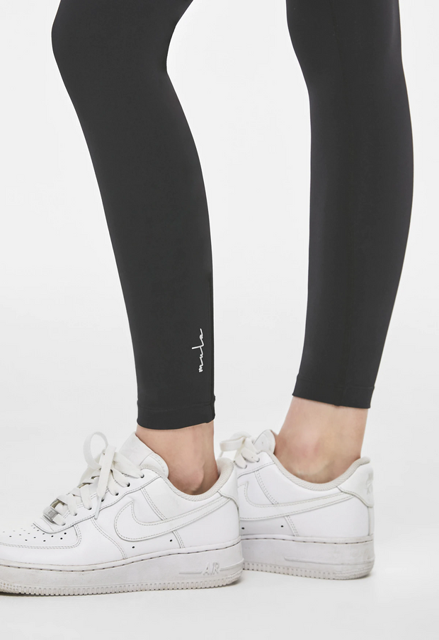 Zip-up leggings