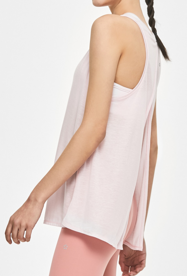 Soften Back Tie-Up Tank