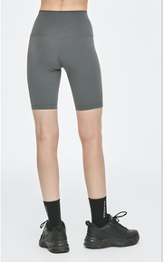 Muse Biker Shorts - Granite Gray