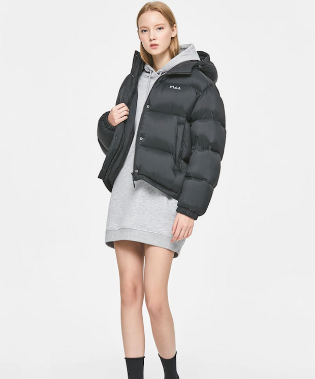 [Pre-order] FLUFFY SHORT DOWN JACKET