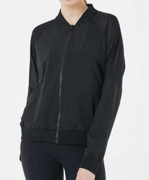 Breathable Bomber Jacket